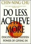 Do less, achievemore